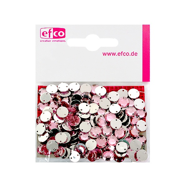 Декоративни камъчета, Acryl facettiert, два отвора, 8 mm, 150 бр. Декоративни камъчета, Acryl facettiert, два отвора, 8 mm, 150 бр., роза