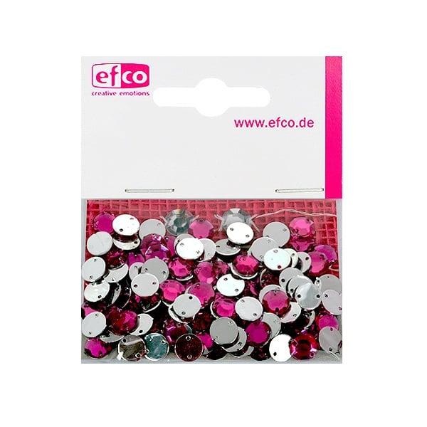Декоративни камъчета, Acryl facettiert, два отвора, 8 mm, 150 бр. Декоративни камъчета, Acryl facettiert, два отвора, 8 mm, 150 бр., розови