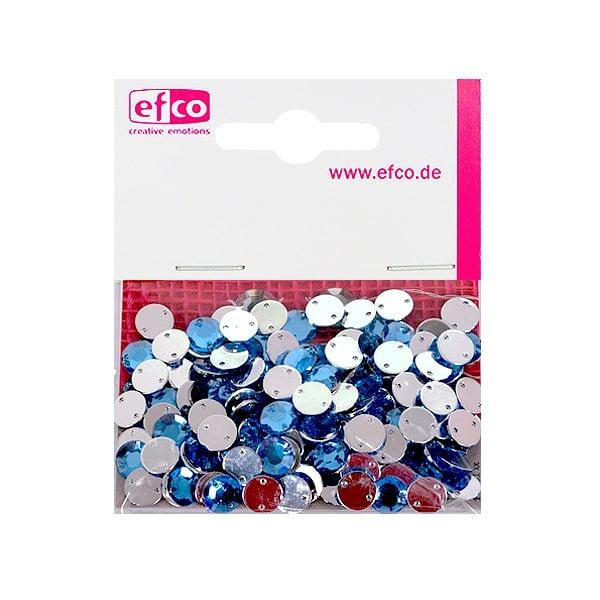 Декоративни камъчета, Acryl facettiert, два отвора, 8 mm, 150 бр. Декоративни камъчета, Acryl facettiert, два отвора, 8 mm, 150 бр., светло сини