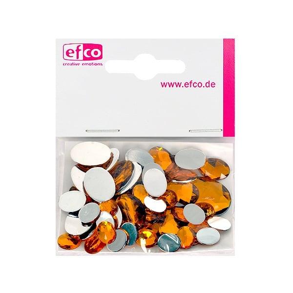 Декоративни камъчета, Acryl facettiert, Set Oval, 30/10/10/2 Stk. Декоративни камъчета, Acryl facettiert, Set Oval, овални, 30/10/10/2 Stk., жълти
