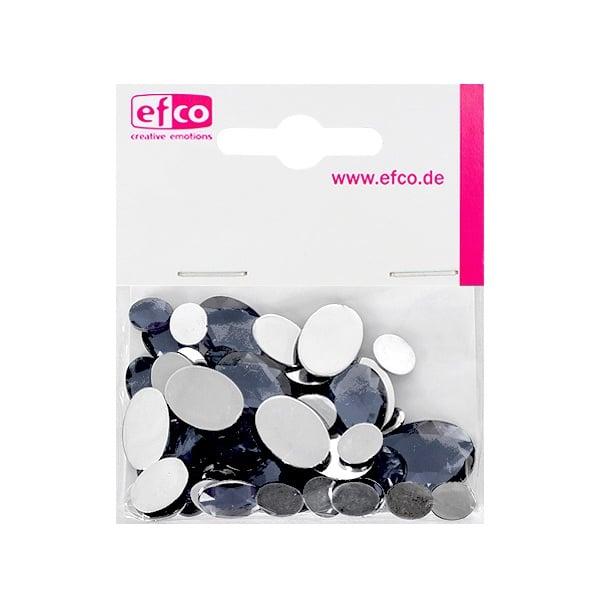 Декоративни камъчета, Acryl facettiert, Set Oval, 30/10/10/2 Stk. Декоративни камъчета, Acryl facettiert, Set Oval, овални, 30/10/10/2 Stk., сиви
