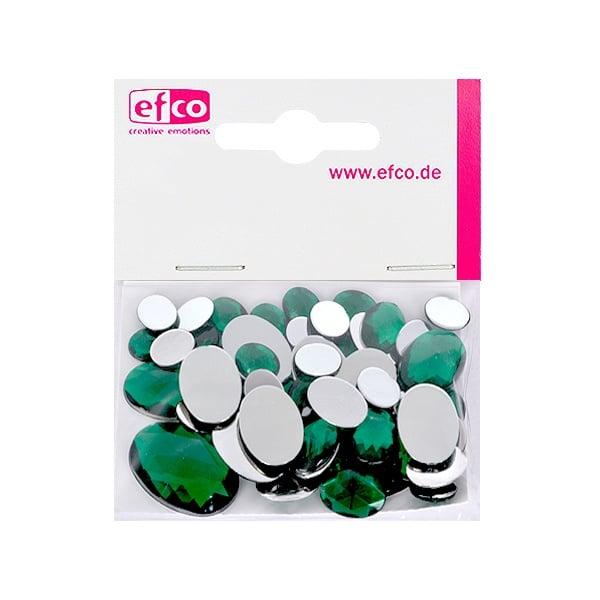 Декоративни камъчета, Acryl facettiert, Set Oval, 30/10/10/2 Stk. Декоративни камъчета, Acryl facettiert, Set Oval, овални, 30/10/10/2 Stk., зелени