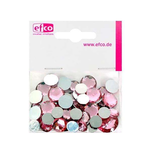 Декоративни камъчета, Acryl facettiert, Set Rund, кръгли, 30/10/10/1/1 Stk. Декоративни камъчета, Acryl facettiert, Set Rund, кръгли, 30/10/10/1/1 Stk., роза