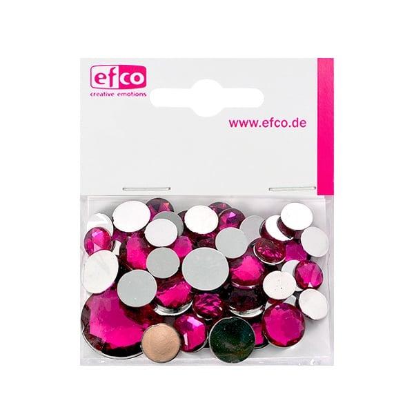 Декоративни камъчета, Acryl facettiert, Set Rund, кръгли, 30/10/10/1/1 Stk. Декоративни камъчета, Acryl facettiert, Set Rund, кръгли, 30/10/10/1/1 Stk., розови