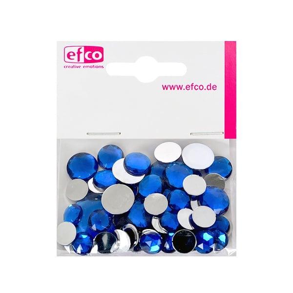 Декоративни камъчета, Acryl facettiert, Set Rund, кръгли, 30/10/10/1/1 Stk. Декоративни камъчета, Acryl facettiert, Set Rund, кръгли, 30/10/10/1/1 Stk., сини