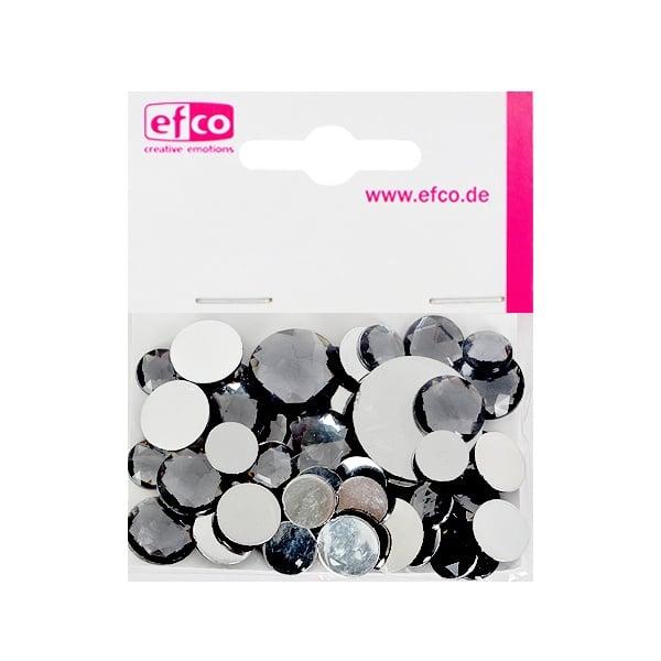 Декоративни камъчета, Acryl facettiert, Set Rund, кръгли, 30/10/10/1/1 Stk. Декоративни камъчета, Acryl facettiert, Set Rund, кръгли, 30/10/10/1/1 Stk., сиви