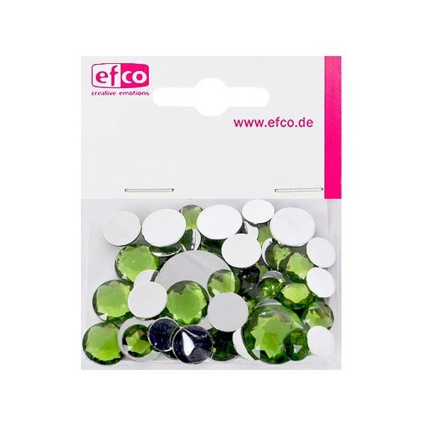 Декоративни камъчета, Acryl facettiert, Set Rund, кръгли, 30/10/10/1/1 Stk. Декоративни камъчета, Acryl facettiert, Set Rund, кръгли, 30/10/10/1/1 Stk., светло зелени