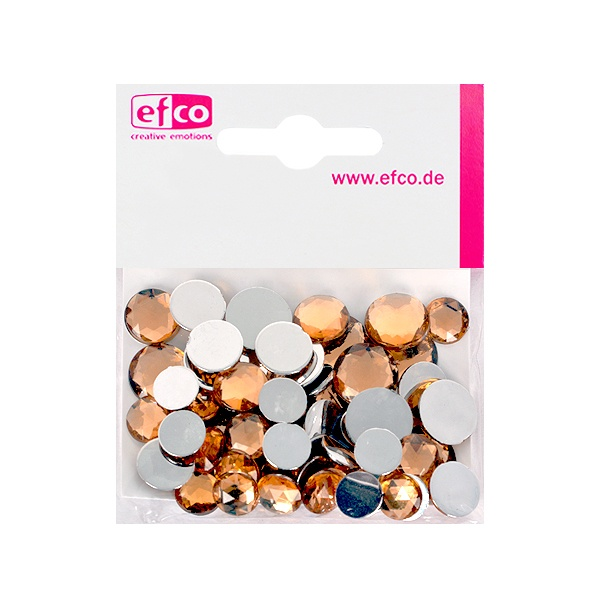 Декоративни камъчета, Acryl facettiert, Set Rund, кръгли, 30/10/10/1/1 Stk. Декоративни камъчета, Acryl facettiert, Set Rund, кръгли, 30/10/10/1/1 Stk., топаз