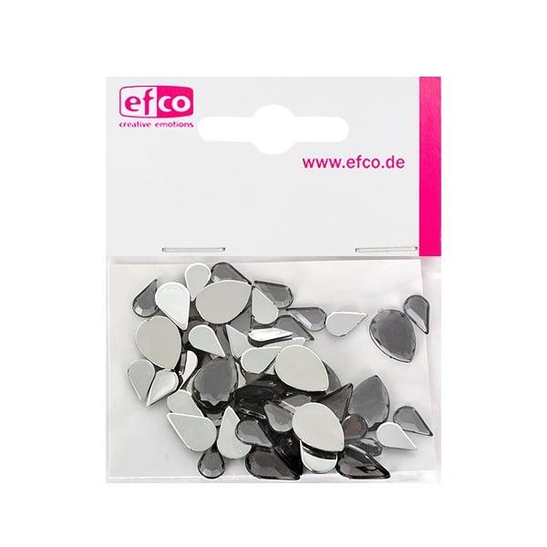 Декоративни камъчета, Acryl facettiert, Set Tropfen, капка, 6x10 / 8x13 / 10x14 mm Декоративни камъчета, Acryl facettiert, Set Tropfen, капка, 6x10 / 8x13 / 10x14 mm, сиви