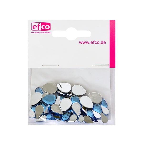 Декоративни камъчета, Acryl facettiert, Set Tropfen, капка, 6x10 / 8x13 / 10x14 mm Декоративни камъчета, Acryl facettiert, Set Tropfen, капка, 6x10 / 8x13 / 10x14 mm, светло сини