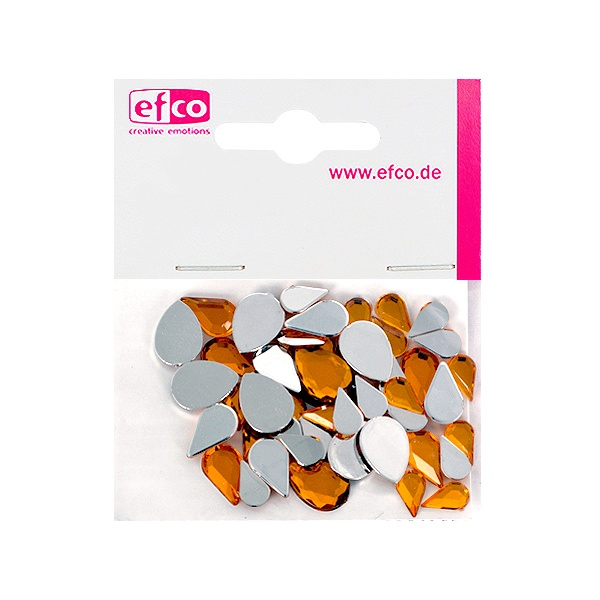Декоративни камъчета, Acryl facettiert, Set Tropfen, капка, 6x10 / 8x13 / 10x14 mm Декоративни камъчета, Acryl facettiert, Set Tropfen, капка, 6x10 / 8x13 / 10x14 mm, топаз