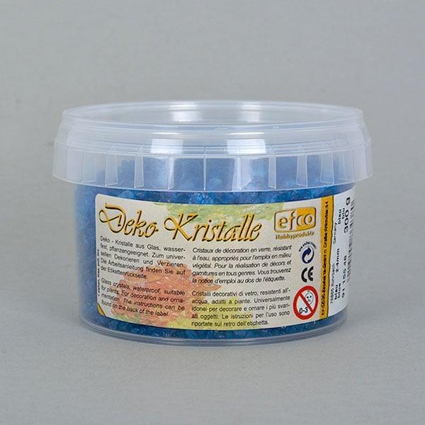 Декоративни кристали, Deko-Kristalle, 2 - 4 mm, 300 g, безцветни Декоративни кристали, Deko-Kristalle, 2 - 4 mm, 300 g, сини, прозрачни