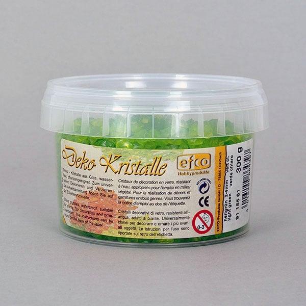 Декоративни кристали, Deko-Kristalle, 2 - 4 mm, 300 g, безцветни Декоративни кристали, Deko-Kristalle, 2 - 4 mm, 300 g, светло зелени, прозрачни