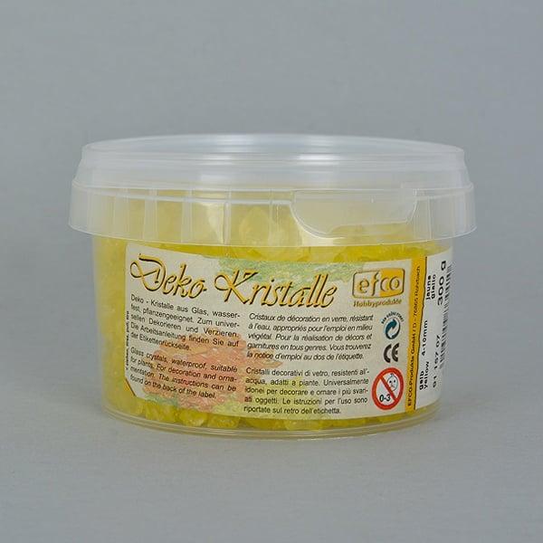 Декоративни кристали, Deko-Kristalle, 4 - 10 mm, 300 g, прозрачни Декоративни кристали, Deko-Kristalle, 4 - 10 mm, 300 g, жълти, прозрачни