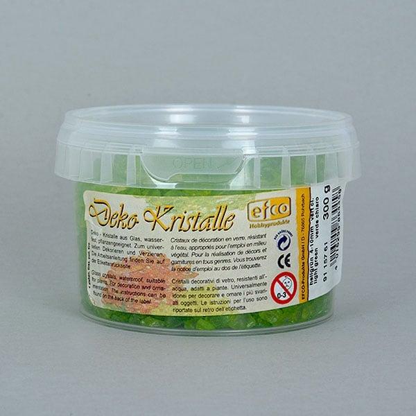 Декоративни кристали, Deko-Kristalle, 4 - 10 mm, 300 g, прозрачни Декоративни кристали, Deko-Kristalle, 4 - 10 mm, 300 g, светло зелени, прозрачни
