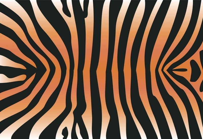 Декупажна хартия, 60 gr/m2, 33 x 48 cm, 1л, Тигрова кожа