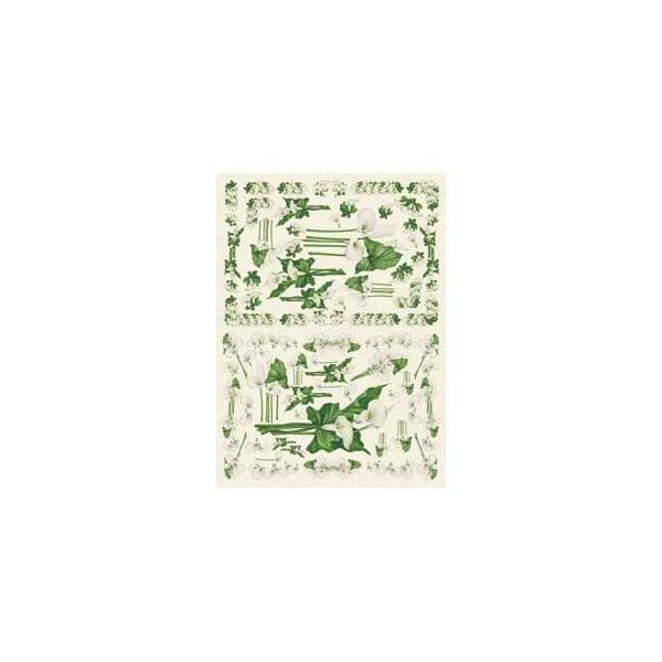 Декупажна хартия с мотиви, 40 g/m2, 50 x 70 cm, 1л, Калии 2