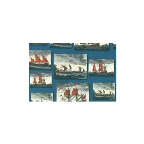 Декупажна хартия с мотиви, 85 g/m2, 50 x 70 cm, 1л, Платноходи