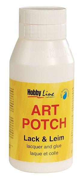 Алуминиево фолио, 20 х 30 см / 0,15 мм, 3 бр., двуцветно - червено и сребристо Декупажно лепило Art Potch Lack & Leim, 750 ml, мат