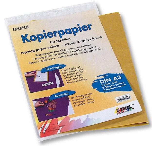 Трансферна хартия, JAVANA, A3, 3 листа