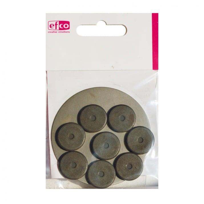 Магнити, кръгли, ф 20 мм, 8 бр.
