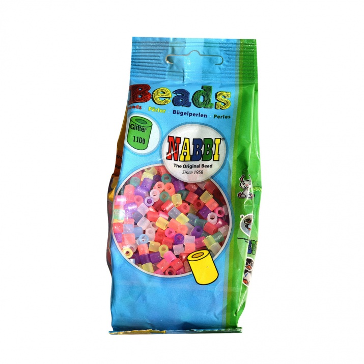 Nabbi -перли, микс, блестящи, 1.000 бр. ~ф 5 x H 5 mm