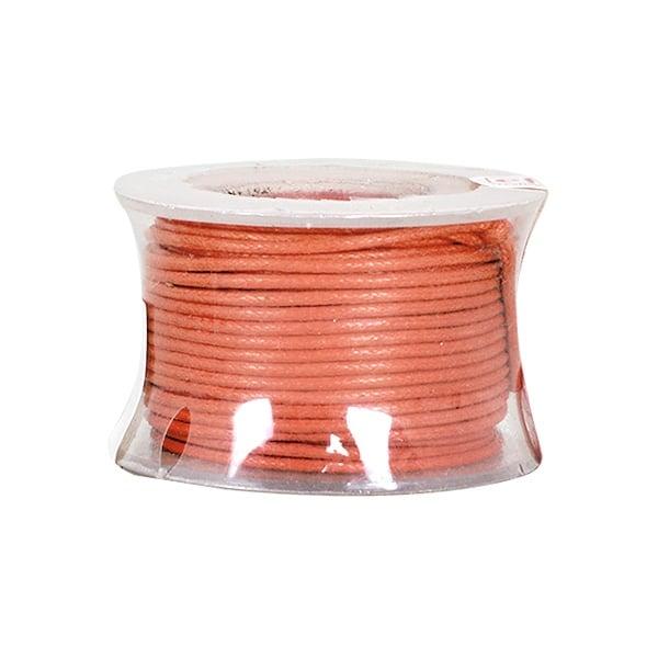 Восъчно памучен шнур, ф 0,5 mm, 9 m Восъчно памучен шнур, ф 0,5 mm, 9 m, оранжев