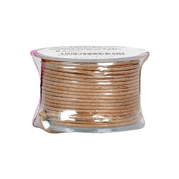 Восъчно памучен шнур, ф 0,5 mm, 9 m Восъчно памучен шнур, ф 0,5 mm, 9 m, кафяв