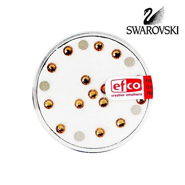 Кристали Swarovski, едностранно плоски, ф 3 mm, 20 бр.