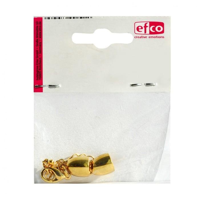 Накрайници със синджирче за регулиране, ф 8 mm, 1 брой, златисти