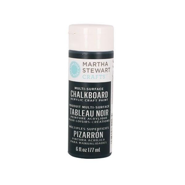 Акрилни бои Martha Stewart, Chalkboard, 177 ml Боя акрилна Martha Stewart, Chalkboard, 177 ml, черна