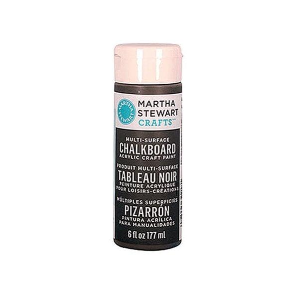 Акрилни бои Martha Stewart, Chalkboard, 177 ml Боя акрилна Martha Stewart, Chalkboard, 177 ml, сива
