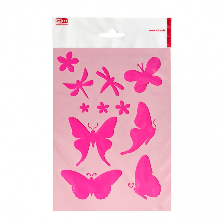 Шаблон, пеперуди/ 1 брой, DIN A5