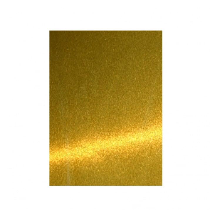 Алуминиево фолио, 20 х 30 см / 0,15 мм, 3 бр., двуцветно - червено и сребристо Месинг фолио, 300 х 200 х 0.15 мм