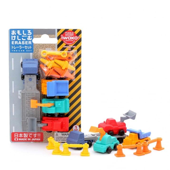 Комплект гумички за триене, Строителна техника, 7 бр.