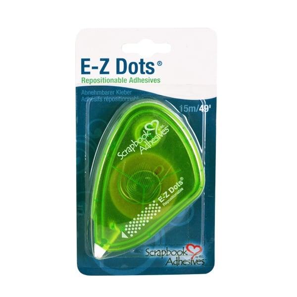 Алуминиево фолио, 20 х 30 см / 0,15 мм, 3 бр., двуцветно - червено и сребристо EZ Dots двустранно лепяща лента, стандартна, 15m