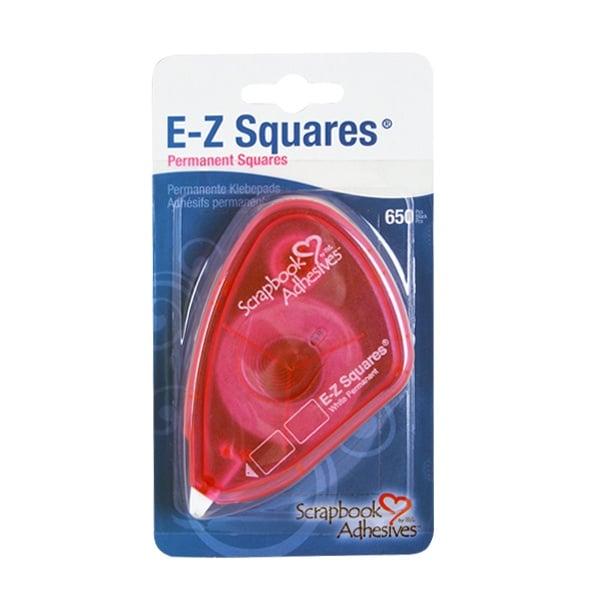 Алуминиево фолио, 20 х 30 см / 0,15 мм, 3 бр., двуцветно - червено и сребристо EZ Squares двустранно лепяща лента, стандартна, 650 прав.