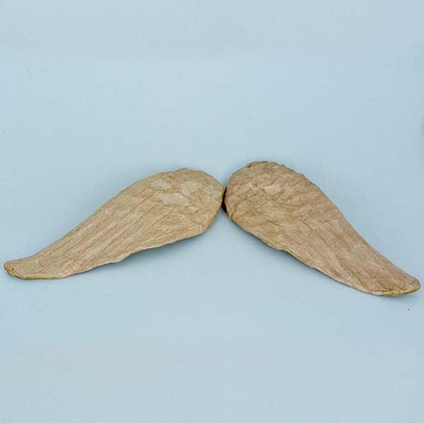 Фигура от папие маше, ангелски криле, 11 x 34,5 cm