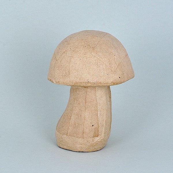 Фигура от папие маше, гъба 10,5 x 14 cm