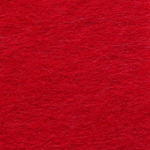 Филц лист, 20 x 30 cm х 2 mm, 100 % полиестер, 350 g/m2 Филц лист, 20 x 30 cm х 2 mm, 100 % полиестер, 350 g/m2, червен