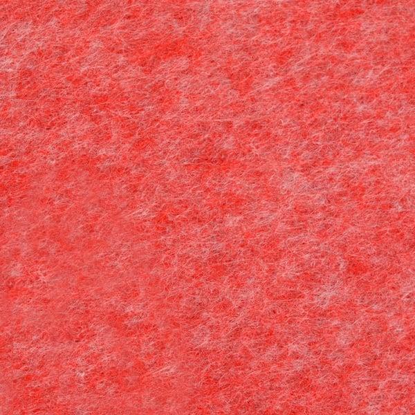 Филц лист, 20 x 30 cm х 2 mm, 100 % полиестер, 350 g/m2 Филц лист, 20 x 30 cm х 2 mm, 100 % полиестер, 350 g/m2, червен меланж