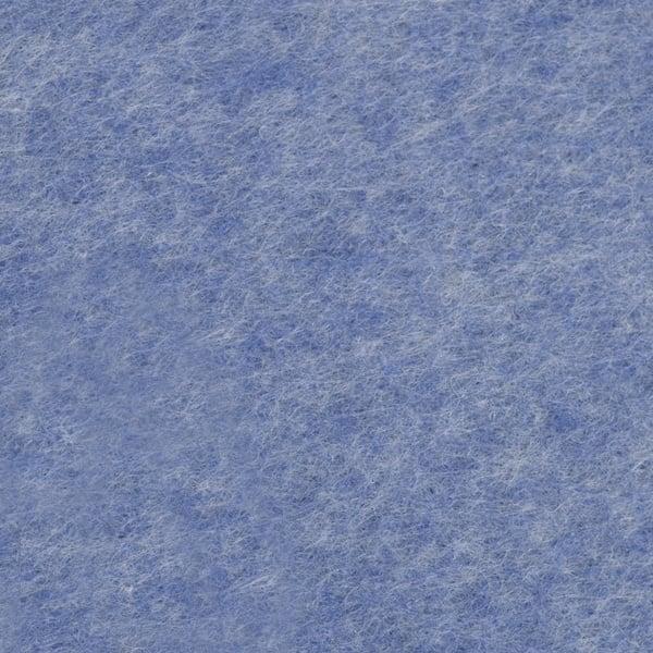 Филц лист, 20 x 30 cm х 2 mm, 100 % полиестер, 350 g/m2 Филц лист, 20 x 30 cm х 2 mm, 100 % полиестер, 350 g/m2, син меланж