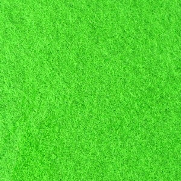 Филц лист, 20 x 30 cm х 2 mm, 100 % полиестер, 350 g/m2 Филц лист, 20 x 30 cm х 2 mm, 100 % полиестер, 350 g/m2, светло зелен