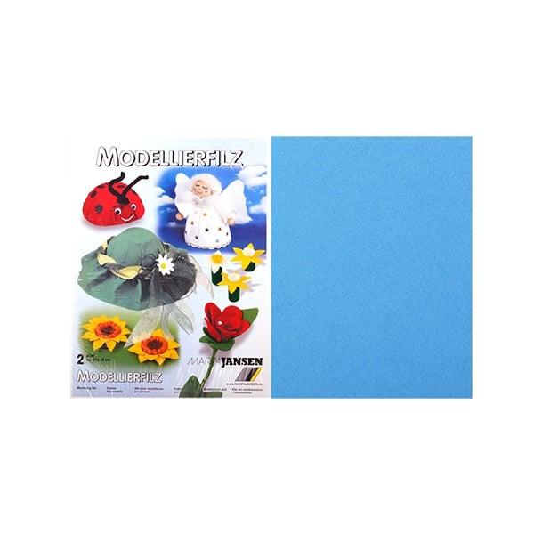 Филц моделиерски, 320 g/m2, 30 x 45 cm, 2л в пакет Филц моделиерски, 320 g/m2, 30 x 45 cm, 2л в пакет, светло син
