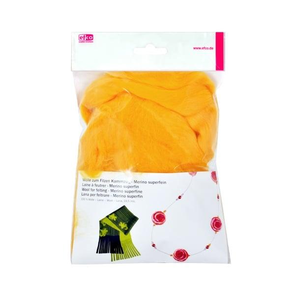Филц от суперфино мерино, 50 g Филц от суперфино мерино, 50 g, жълт