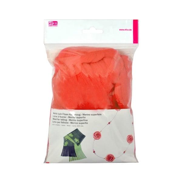 Филц от суперфино мерино, 50 g Филц от суперфино мерино, 50 g, оранжев