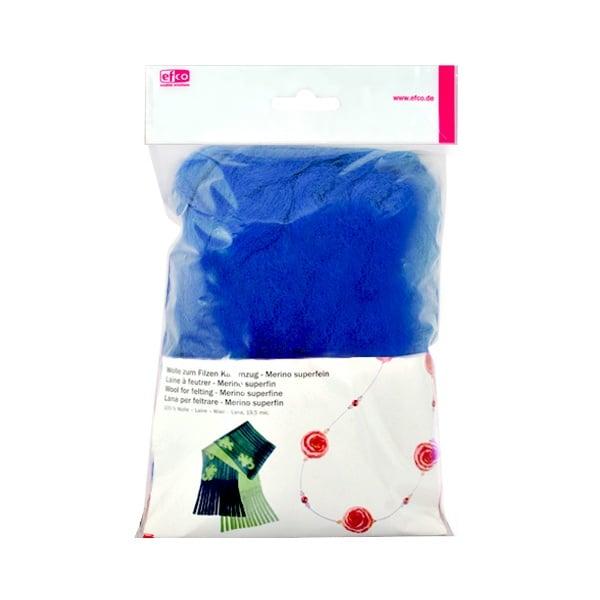 Филц от суперфино мерино, 50 g Филц от суперфино мерино, 50 g, син микс
