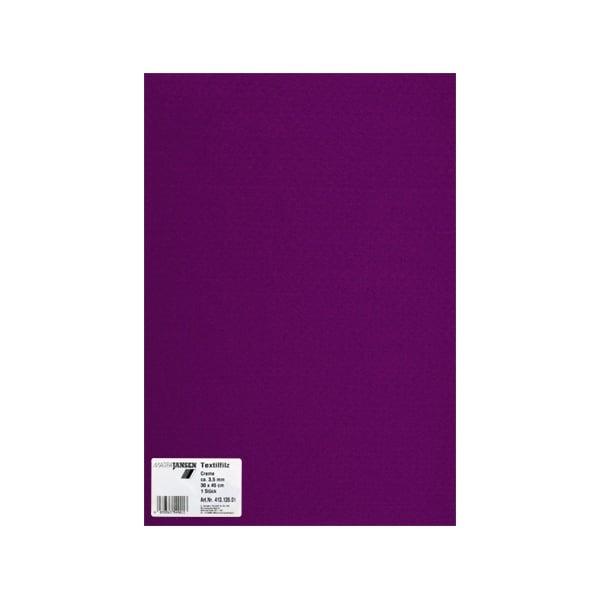Филц текстилен, 3,5 mm, 30 x 45 cm, 1л в пакет Филц текстилен, 3,5 mm, 30 x 45 cm, 1л в пакет, бордо