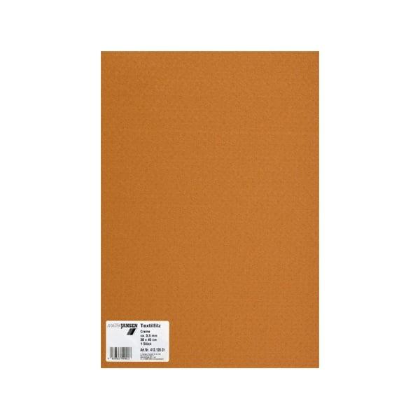 Филц текстилен, 3,5 mm, 30 x 45 cm, 1л в пакет Филц текстилен, 3,5 mm, 30 x 45 cm, 1л в пакет, еленово