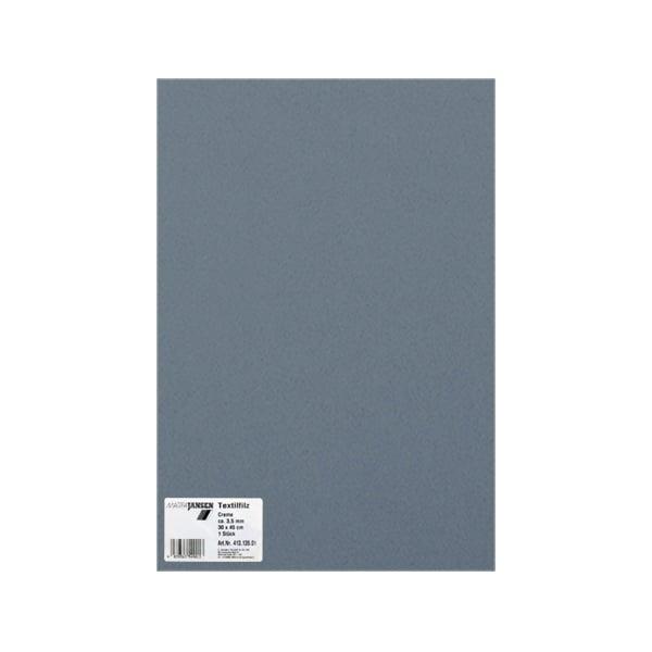 Филц текстилен, 3,5 mm, 30 x 45 cm, 1л в пакет Филц текстилен, 3,5 mm, 30 x 45 cm, 1л в пакет, каменно